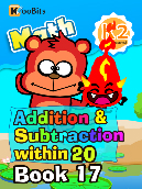 Addition & Subtraction within 20 - K2 - Book 17