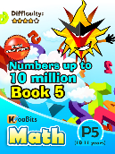Numbers up to 10 million - P5 - Book 5