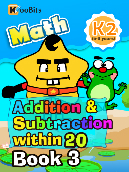 Addition & Subtraction within 20 - K2 - Book 3