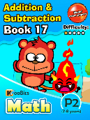 Addition & Subtraction - P2 - Book 17