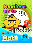 Numbers up to 40 - P1 - Book 6