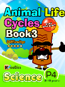 Animal Life Cycles - P4 - Book 3