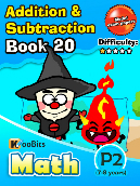 Addition & Subtraction - P2 - Book 20