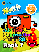 Addition & Subtraction within 30 - K2 - Book 7
