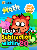 Subtraction within 20 - K2 - Book 1