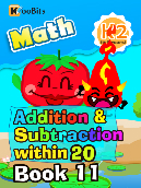 Addition & Subtraction within 20 - K2 - Book 11