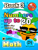 Numbers up to 20 - P1 - Book 3