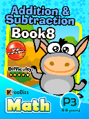 Addition & Subtraction - P3 - Book 8