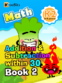 Addition & Subtraction within 30 - K2 - Book 2
