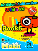Addition & Subtraction within 20 - P1 - Book 6