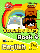 Vocabulary - Primary 3 - Book 4