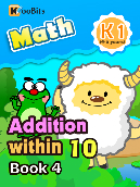 Addition within 10 - K1 - Book 4