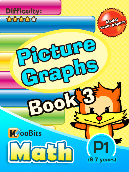 Picture Graphs - P1 - Book 3