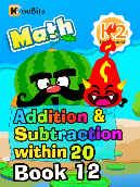 Addition & Subtraction within 20 - K2 - Book 12