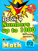 Numbers up to 1000 - P2 - Book 4