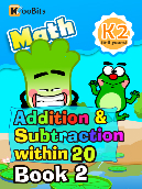 Addition & Subtraction within 20 - K2 - Book 2