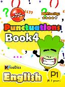 Grammar - Punctuations - Primary 1 - Book 4