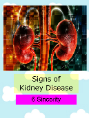 Signs of Kidney Disease