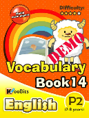 Vocabulary - Primary 2 - Book 14