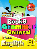 Grammar General - Primary 1 - Book 9