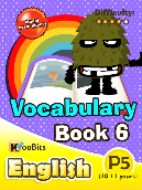 Vocabulary - Primary 5 - Book 6