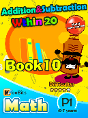 Addition & Subtraction within 20 - P1 - Book 10
