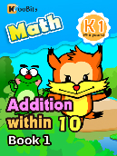 Addition within 10 - K1 - Book 1