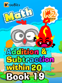 Addition & Subtraction within 20 - K2 - Book 19