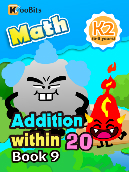 Addition within 20 - K2 - Book 9