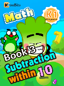 Subtraction within 10 - K1 - Book 3