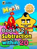 Subtraction within 20 - K2 - Book 12
