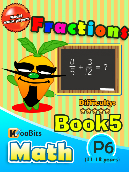 Fractions - P6 - Book 5