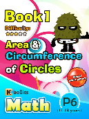 Area and Circumference of Circle - P6 - Book 1