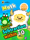 Subtraction within 10 - K1 - Book 5