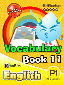 Vocabulary - Primary 1 - Book 11