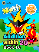 Addition within 20 - K2 - Book 16