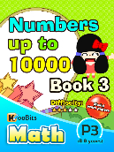 Numbers up to 10000 - P3 - Book 3