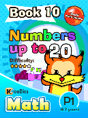 Numbers up to 20 - P1 - Book 10