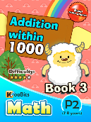Addition within 1000 - P2 - Book 3