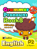 Grammar - Pronouns - Primary 2 - Book 8
