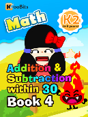 Addition & Subtraction within 30 - K2 - Book 4