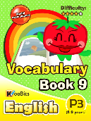 Vocabulary - Primary 3 - Book 9