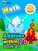 Addition within 20 - K2 - Book 20