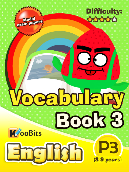 Vocabulary - Primary 3 - Book 3