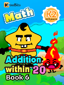 Addition within 20 - K2 - Book 6