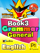 Grammar - Primary 1 - Book 3