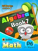 Algebra - P6 - Book 7