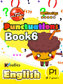 Grammar - Punctuations - Primary 1 - Book 6