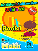 Addition & Subtraction within 20 - P1 - Book 1