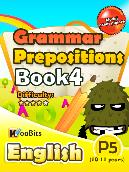 Grammar - Prepositions - Primary 5 - Book 4